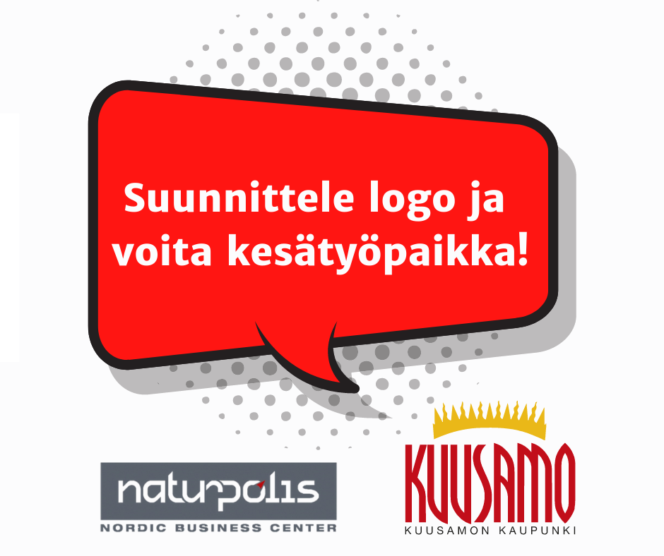 Suunnittele logo ja voita kesätyöpaikka